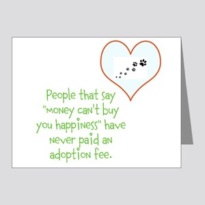 adoption happiness Note Cards