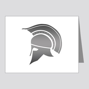 Ancient Greek Spartan Helmet Note Cards