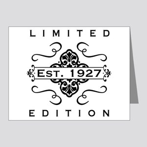 1927 Limited Edition Note Cards