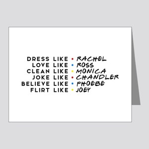 Dress Love Clean Joke Believe Flirt Note Cards