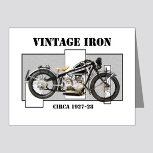 1927-28 Vintage Iron Note Cards