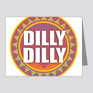 Dilly Dilly Note Cards