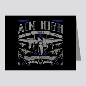 Aim High Fly Fight Win Note Cards (Pk of 20)