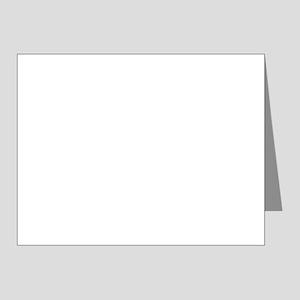 U.S. Army: Hooah (Black) Note Cards (Pk of 20)