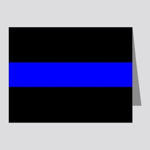Police: The Thin Blue Line Note Cards (Pk of 20)
