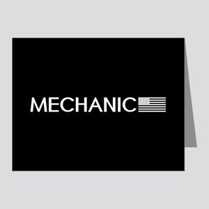 Mechanic: American Flag (Whi Note Cards (Pk of 20)
