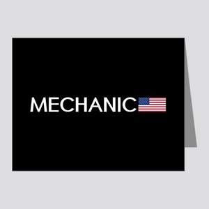 Mechanic: American Flag Note Cards (Pk of 20)