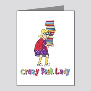 Crazy Book Lady Note Cards (Pk of 20)