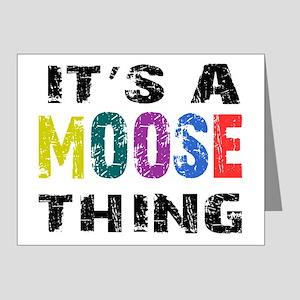 moosething Note Cards (Pk of 20)