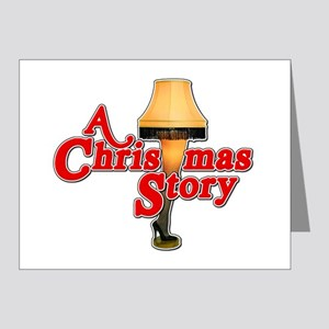 A Christmas Story Movie Lamp Note Cards (Pk of 20)