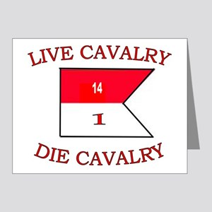 1st Squadron 14th Cavalry ca Note Cards (Pk of 20)
