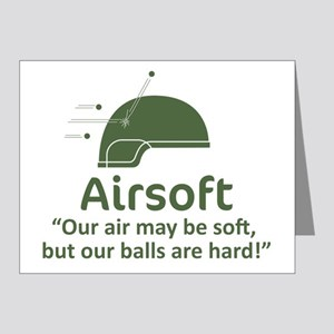Hard Balls - OD Note Cards (Pk of 20)