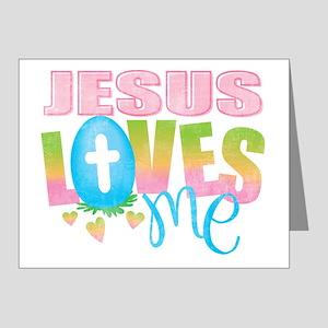 Jesus Loves Me Note Cards (Pk of 20)