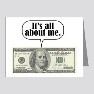 Benjamins Note Cards (Pk of 20)