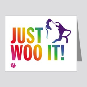 JUST WOO IT! Note Cards (Pk of 20)