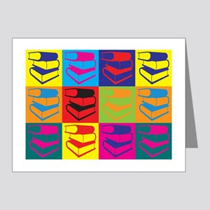 Library Work Pop Art Note Cards (Pk of 20)