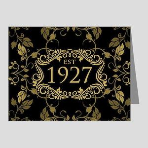 Established 1927 Note Cards
