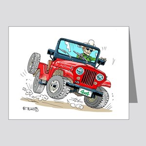 Willys-Kaiser CJ5 jeep Note Cards (Pk of 20)