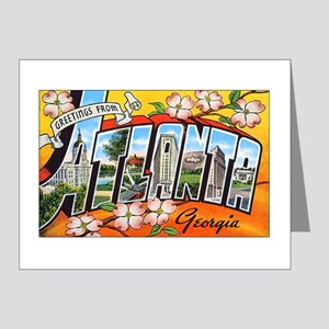 Atlanta Georgia Greetings Note Cards (Pk of 20)