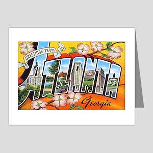 Atlanta Georgia Greetings Note Cards (Pk of 20)
