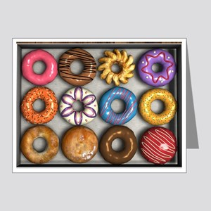 Box of Doughnuts Note Cards (Pk of 20)