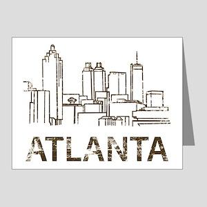 atlanta2 Note Cards (Pk of 20)