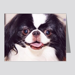.japanese chin Note Cards (Pk of 20)