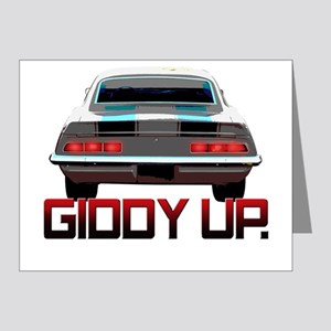 Camaro - Giddy Up Note Cards (Pk of 20)
