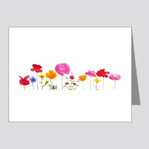wild meadow flowers Note Cards