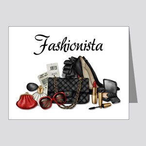 Fashionista Note Cards (Pk of 20)
