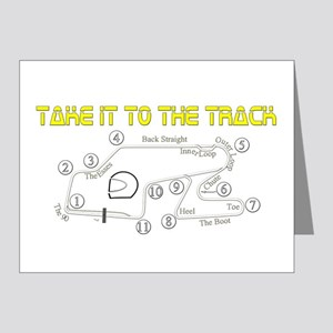 Track Days Note Cards (Pk of 20)