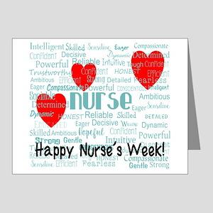 Happy Nurse's Week Note Cards