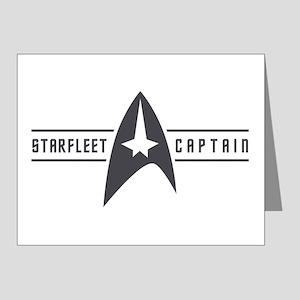 Starfleet Captain Note Cards (Pk of 20)