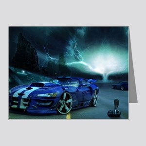 FASTER THAN LIGHTENING Note Cards (Pk of 20)