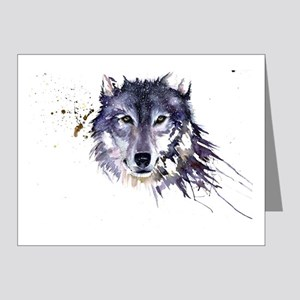 Snow Wolf Note Cards (Pk of 20)