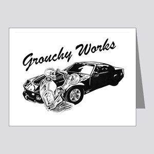 Grouchy Works Note Cards (Pk of 20)