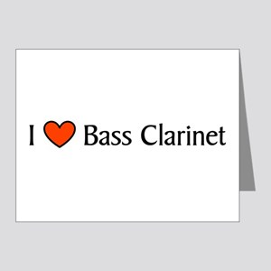 Bass Clarinet Gift Note Cards (Pk of 20)