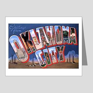 Oklahoma City Oklahoma Note Cards (Pk of 20)