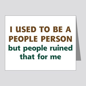 People Person Humor Note Cards (Pk of 20)