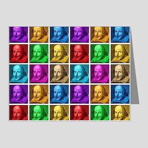 Pop Art Shakespeare Note Cards (Pk of 20)