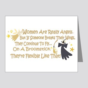 Women Are Like Angels Note Cards (Pk of 20)