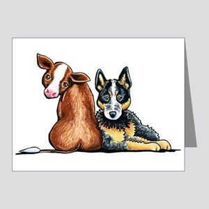 ACD and Cow Note Cards