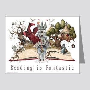 Reading is Fantastic II Note Cards (Pk of 20)