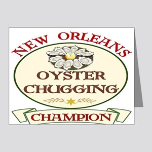 Oyster Eating Champion Note Cards (Pk of 20)