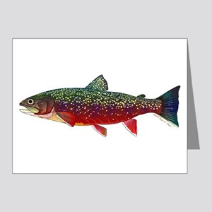 Brook Trout v2 Note Cards