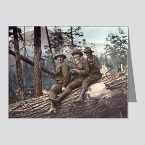 Girl Scout Camp Note Cards (Pk of 20)