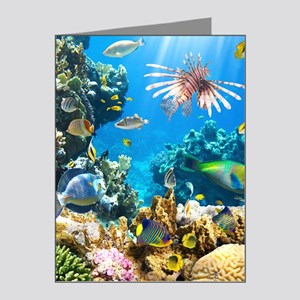 Sea Life Note Cards (Pk of 20)