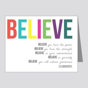 Believe_revised_products_2 Note Cards (Pk of 20)