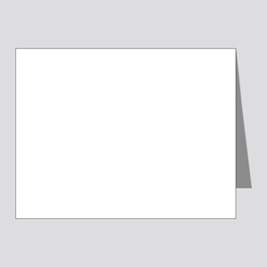 Mid-morning on the Piste, 2 - Note Cards, Pk of 20