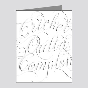 Cricket Outta Compton Note Cards (Pk of 20)